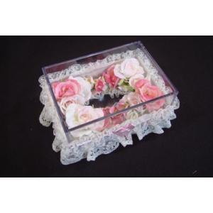 お花のティッシュケース(小)ピンク|rukashow