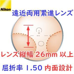 (メガネセット用/2枚1組)(遠近両用 累進シニアレンズ)(送料無料)(屈折率1.50 内面設計) NIKON GoosiaPal150 (グーシアパル150)|rule