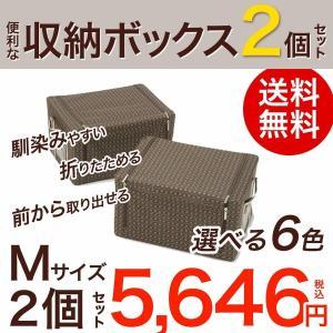 収納 ボックス 【M】2個セット|rum21