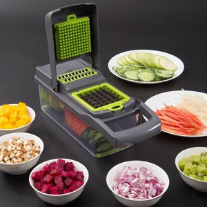 Rumay キッチン用品 野菜カッター スライサー・カッター 家庭用 多機能 野菜カッティング おろ...