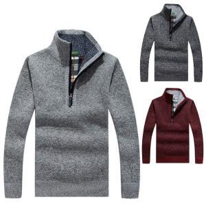 セーター メンズ 長袖 トップス セーター かっこいい アメカジ カジュアル  裏起毛 M-3XL ...
