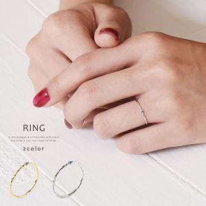リング 指輪 シンプルデザイン 極細 レディース ピンキーリング|rumsee