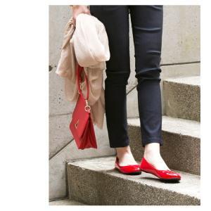 バレエシューズ フラットシューズ ぺたんこ パンプス 軽量 リボン エナメル ペタンコ 靴 スエード クッション レディース 痛くない シューズ|rumsee|10
