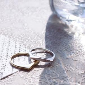 リング 指輪 レディース シンプル ユニーク 個性的 メタル 華奢 細身 ナチュラル デザイン 大人 女性 おしゃれ 可愛い rumsee