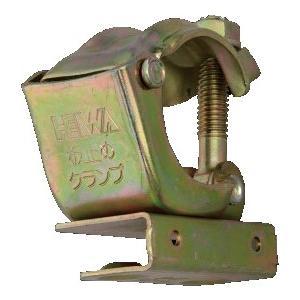 クランプ部:φ42.7/φ48.6兼用 釘穴径:φ5mm 板厚12mmまで対応。 【※注 実際の商品...