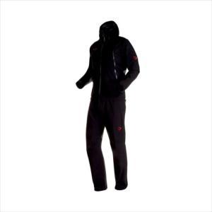 《送料無料》レインスーツ MAMMUT (マムート) メンズ CLIMATE Rain -Suit AF Men black-black 1010-26551 1906 アウトドア|runningclub-gh