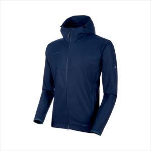 《送料無料》ジャケット MAMMUT (マムート) メンズ GRANITE SO Hooded Jacket AF Men peacoat 1011-00321 1906 アウトドア|runningclub-gh