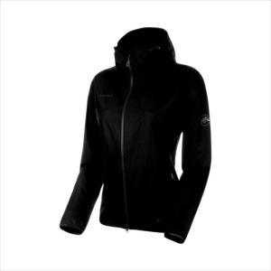 《送料無料》ジャケット MAMMUT (マムート) レディース GRANITE SO Hooded Jacket AF Women black 1011-00331 1906 アウトドア|runningclub-gh
