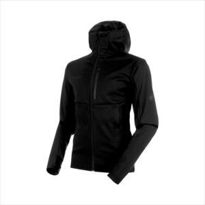 《送料無料》ジャケット MAMMUT (マムート) メンズ Ultimate V SO Hooded Jacket AF Men black-black 1011-00351 1906 アウトドア|runningclub-gh