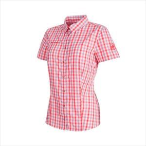 MAMMUT (マムート) Kirsi Shirt Women white-barberry 1015-02021 1803 レディース ウィメンズ 婦人|runningclub-gh