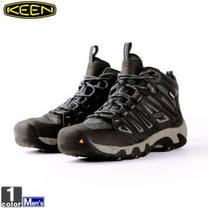 キーン/KEEN メンズ トレッキングブーツ オークリッジ ミッド ウォータープルーフ 1015307 1812 キーンブーツ KEENブーツ
