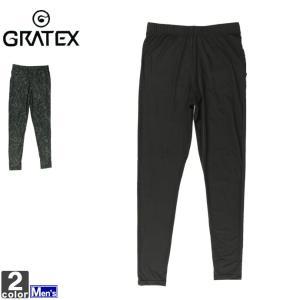 レギンス グラテックス GRATEX メンズ 3324 冷感 コンプレッション フルレギンス 1905 スパッツ アンダーウェア|runningclub-gh