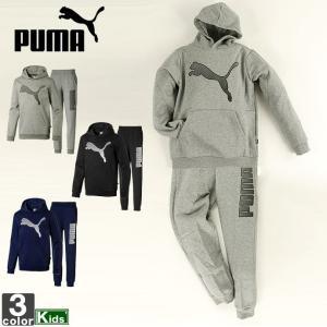 セットアップ プーマ PUMA ジュニア キッズ 581070 581079 KA スウェット 上下セット 1912 フーディ ロングパンツ|runningclub-gh