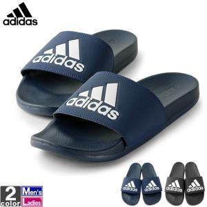 アディダス/adidas メンズ レディース サンダル アディレッタ CF ロゴ B44870 CG3425 1903 つっかけ スリッパ|runningclub-gh