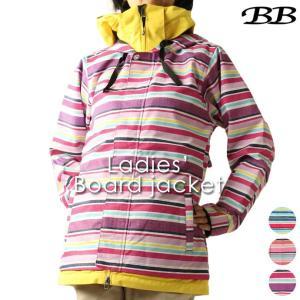 ボードウェア ビービー BB レディース BB-7101 スノーボードジャケット 1910 アウター スノボ|runningclub-gh