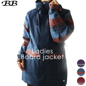 スノーボードジャケット ビービー BB レディース BB-8052 1910 アウター スノボ|runningclub-gh