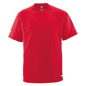 DESCENTE (デサント) 丸首Tシャツ DB200 RED 1611|runningclub-gh