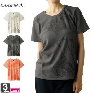 半袖Tシャツ ダンスキン DANSKIN レディース DY77305 Tシャツ 1910 プリントTシャツ|runningclub-gh
