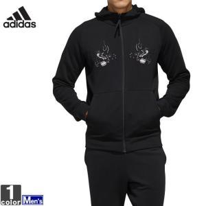 パーカー アディダス adidas メンズ FYO14 オールブラックス 日本限定 スカジャン風 スウェット 1908 送料無 ラグビーパーカー 2019年秋冬|runningclub-gh