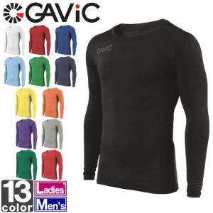 ロングスリーブインナー ガビック GAViC メンズ レディース 丸首 インナーシャツ GA8351 1712 男女兼用 長袖 クルーネック|runningclub-gh