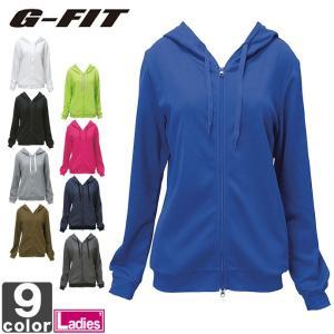 ジーフィット/G-FIT レディース ジップアップ パーカー GF-C515JK 1705 婦人 ウィメンズ runningclub-gh