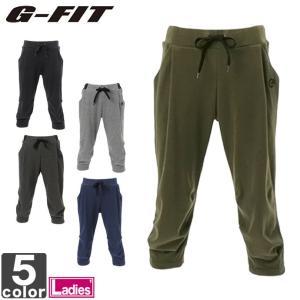 7分丈パンツ ジーフィット G-FIT レディース イージー カプリパンツ GF-C520PP 1706 ボトムス ズボン runningclub-gh