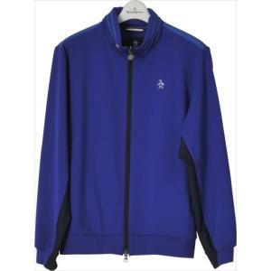 《送料無料》トラックジャケット Munsingwear (マンシングウェア) メンズ カットソー ブルー MGMLGL50 1904 ゴルフウェア|runningclub-gh