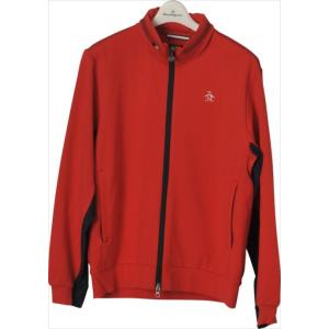 《送料無料》トラックジャケット Munsingwear (マンシングウェア) メンズ カットソー レッド MGMLGL50 1904 ゴルフウェア|runningclub-gh