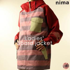 ジャケット ニーマ nima レディース NB-1006 スノーボードジャケット 1910 スノボ アウター runningclub-gh