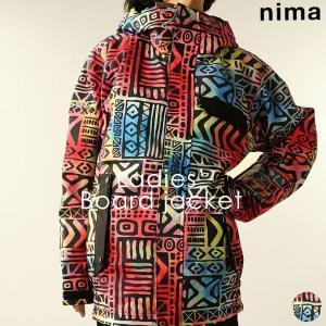 ジャケット ニーマ nima レディース NB-1007 スノーボードジャケット 1910 スノボ アウター runningclub-gh