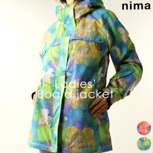 ジャケット ニーマ nima レディース NB-10631スノーボードジャケット 1910 スノボ アウター runningclub-gh