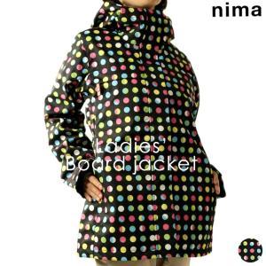 ジャケット ニーマ nima レディース NB-1063 スノーボードジャケット 1910 スノボ アウター runningclub-gh