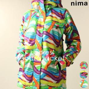 ジャケット ニーマ nima レディース NB-1069 スノーボードジャケット 1910 スノボ アウター runningclub-gh
