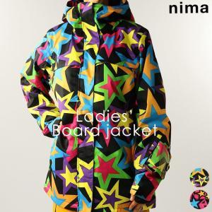 ジャケット ニーマ nima レディース NB-1080 スノーボードジャケット 1911 スノボ アウター|runningclub-gh