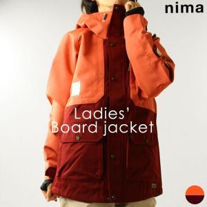 ジャケット ニーマ nima レディース NB-2009 スノーボードジャケット 1910 スノボ アウター|runningclub-gh