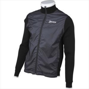 ジャケット SRIXON (スリクソン) メンズ ハイブリッドニットジャケット ブラック RGMMJL04 1908 ゴルフ|runningclub-gh