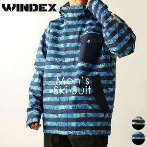 スキーウェア ウィンデックス WINDEX メンズ WS-9302 スキースーツ 上下セット 1910 パンツ ジャケット アウター|runningclub-gh
