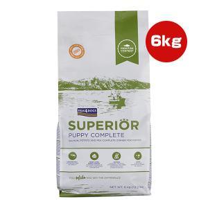 【送料無料・同梱可】フィッシュ4ドッグ スーペリア パピー 6kg Fish4Dogs ▽b ペット フード 犬 ドッグ 子犬
