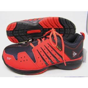 ●メンズ安全靴/ダンロップセーフティー/マグナムST301RED/手ごろで高機能の人気シューズ|runrunskip