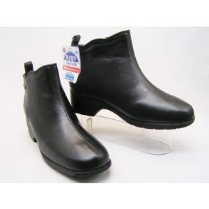 ▽パンジー/レインステップ4905/黒/雨靴 可愛いレインシューズ|runrunskip