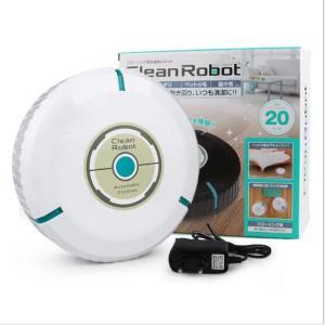 Clean Robot クリーンロボット お掃除 ロボット掃除機 フローリング 床 電池式 キャラクター 女の子 子供 誕生日 クリスマス プレゼント おままごと 家電|rurubunndo