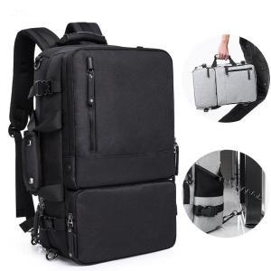 ビジネスバッグ 3WAY メンズ リュック リュック・デイパック ブリーフケース 黒 ブラック グレー ギフト 大容量 通勤 出張 鞄|rurubunndo