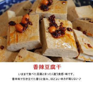 本場中国の味・新感覚の中華惣菜ー香辣豆腐干(シャンラートゥフーカン)少量パック(90g)