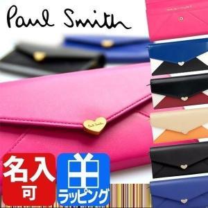 ポールスミス 【Paul Smith レディース 財布 さいふサイフ】 二つ折り長財布 Paul Smithポールスミス|rush-mall