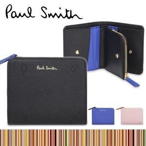 ポールスミス 財布 【レディース 二つ折り財布 スミシーハート】 W803|rush-mall