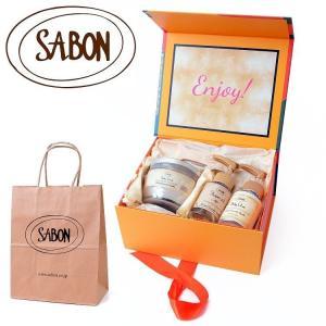 SABONのスターアイテムを 代表的な香りで 楽しむギフトセット   ベストセラーアイテムである 柔...