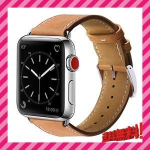 BRG コンパチブル apple watch バンド,本革 ビジネススタイル コンパチブル アップル...