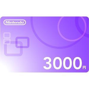 (コード通知) Nintendo ニンテンドープリペイドカード 3000円