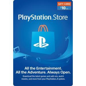 (コード通知) 北米版 プレイステーション PSNカード $10ドル