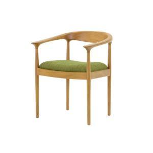 CHLOROSクロロス Bliss アームチェア【ダイニングチェア デスクチェア パソコンチェア 椅子 北欧家具 デザイン チーク無垢材 チーク材 天|ruskea